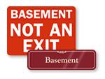 Basement Signs