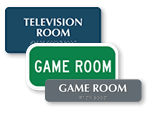 Game Room Signs