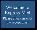 Custom Reception Sign