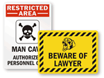 Funny Security Signs