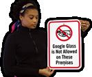 Google Glass Signs