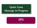 Health Spa Signs