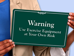More Stock Fitness Room Signs