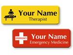 Hospital Name Badges