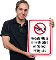 Google Glass Signs