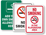 In-stock No Smoking Signs