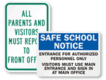 School Office Signs