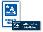 Alternative Medicine Signs