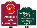 Automatic Gate SignatureSigns™