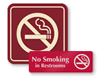 ShowCase No Smoking Signs