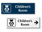 Children's Room Signs