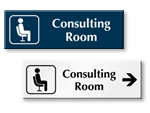 Consulting Room Door Signs