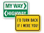 Funny Traffic Signs