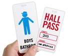 Hall & Bathroom Passes