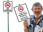 Lawnboss™ No Smoking Signs