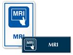 MRI Door Signs