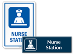 Nurse Station Door Signs