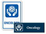Oncology Door Signs