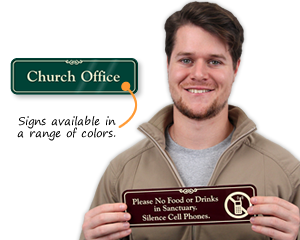 Church Office Signs