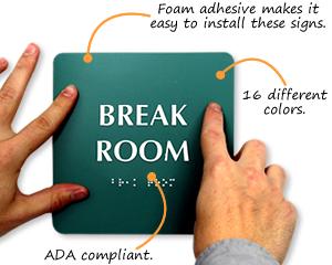 Lunch Room Signs & Break Room Signs