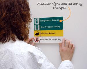 School Laboratory Signs