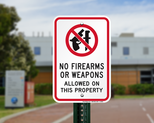 Wisonsin concealed gun sign for entrance