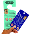 Breast Self-Examination Tags
