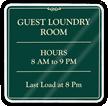 Custom Laundry Signs
