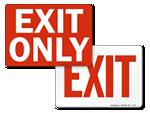 Exit Door Signs