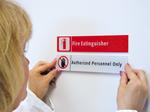 Stacking Magnetic Door Signs