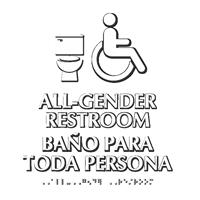 All Gender Restroom ISA And Toilet Symbol Sign