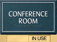 Room Name with Slider Sign