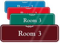 Room 3 Sign