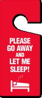Please Go Away And Let Me Sleep Tag