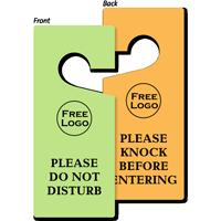 Custom Please Do Not Disturb Door Hang Tag