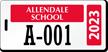 Custom School Pass Backpack Tags
