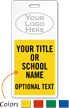 Custom School Hall Passes with Logo