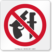 No Weapons Symbol Sign