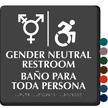 Updated ISA And Gender Neutral Restroom Sign