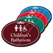 Childrens Bathroom ShowCase Sign