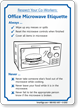 Respect Office Microwave Etiquette Sign