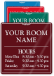 Customizable Room Name Sign