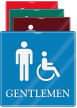 Gentlemen Handicap ShowCase Wall Sign