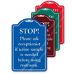 Urine Sample Is Needed ShowCase Sign
