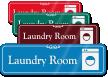 Laundry Room ShowCase Wall Sign