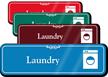 Laundry Hospital Showcase Sign