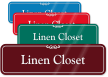 Linen Closet ShowCase Wall Sign