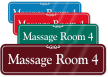 Massage Room 4 ShowCase Wall Sign