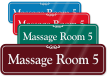Massage Room 5 ShowCase Wall Sign