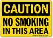 Caution: No Smoking In This Area